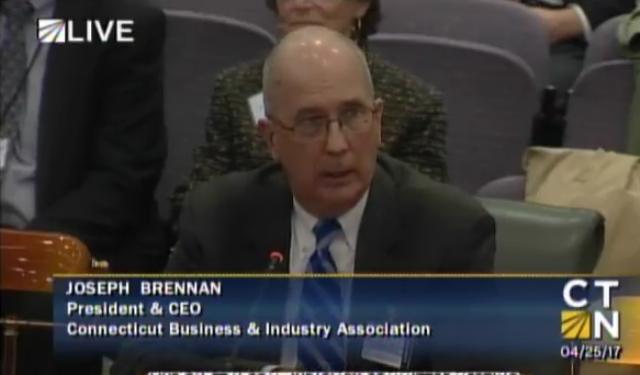 CBIA's Joe Brennan